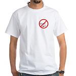 (Keine) Beschneidung (Tasche) White T-Shirt