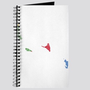 Comoros United Flag And Map Journal