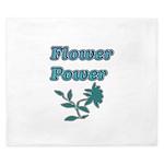 Flower Power King Duvet