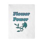 Flower Power Twin Duvet