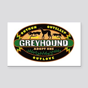 Adopt One (G) Rectangle Car Magnet