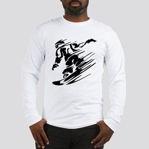 Snowboarding Long Sleeve T-Shirt