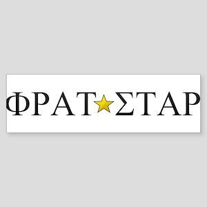 Frat Star (Greek) Sticker (Bumper)