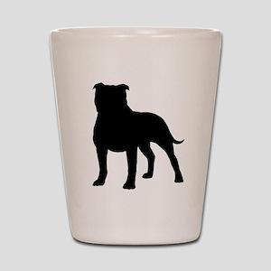 Staffordshire Bull Terrier Shot Glass