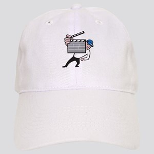 Director With Movie Clapboard Cartoon Cap