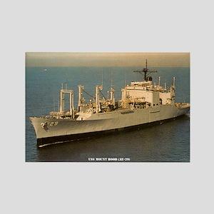USS MOUNT HOOD Rectangle Magnet