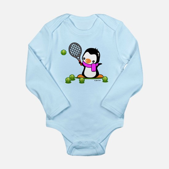 Tennis (9) Long Sleeve Infant Bodysuit