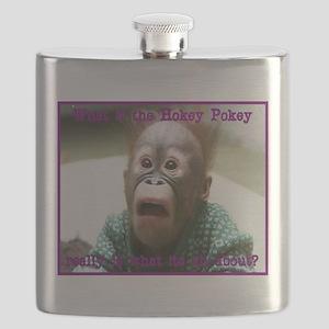 Hokey Pokey Orangutan Flask