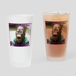 Hokey Pokey Orangutan Drinking Glass