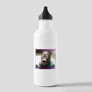 Hokey Pokey Orangutan Stainless Water Bottle 1.0L