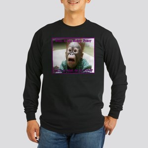 Hokey Pokey Orangutan Long Sleeve Dark T-Shirt