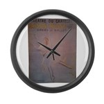 Pearl Lover-3 Large Wall Clock