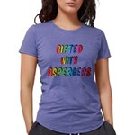 Gifted with Aspergers Womens Tri-blend T-Shirt