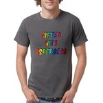 Gifted with Aspergers Mens Comfort Colors Shirt