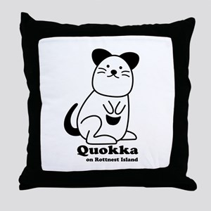 Quokka v.1 Throw Pillow
