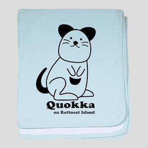Quokka v.1 baby blanket
