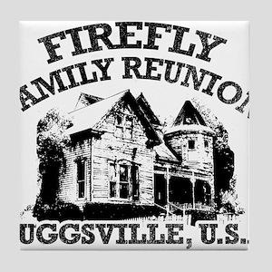 FIREFLY FAMILY REUNION Tile Coaster