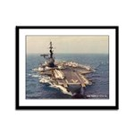 USS MIDWAY Framed Panel Print