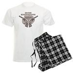 russian roulette Men's Light Pajamas