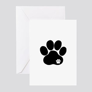 Double Paw Greeting Cards (Pk of 20)