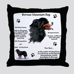Berner 1 Throw Pillow