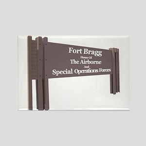 Fort Bragg Rectangle Magnet