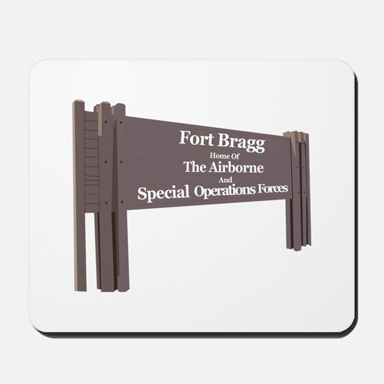 Fort Bragg Mousepad