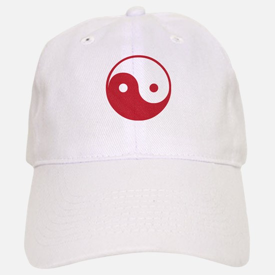 Vintage Yin Yang Baseball Baseball Cap