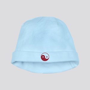 Vintage Yin Yang baby hat