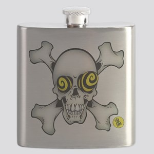 Skully and Crossbones Flask