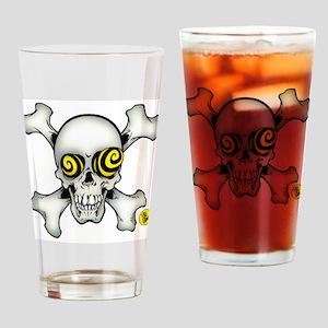 Skully and Crossbones Drinking Glass
