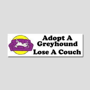 Lose a Couch (P) Car Magnet 10 x 3
