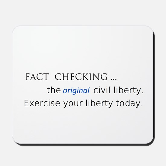 fact check liberty Mousepad