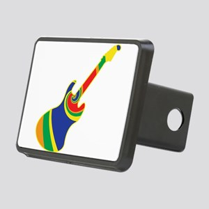 Groovy Guitar Rectangular Hitch Cover