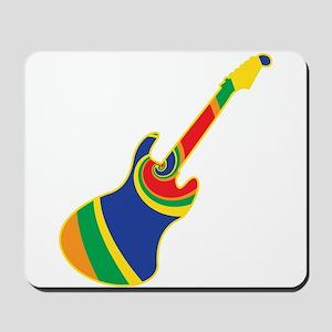 Groovy Guitar Mousepad