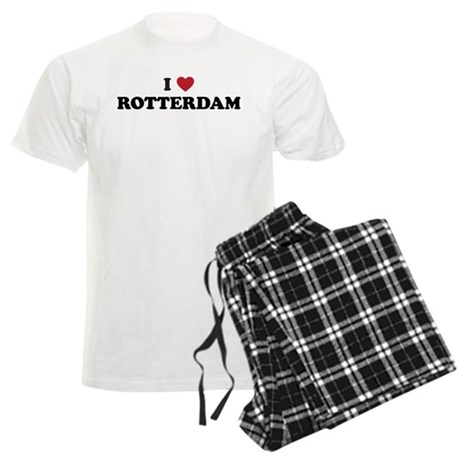 I Love Rotterdam Men's Light Pajamas