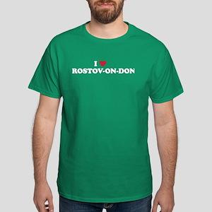 I Love Rostov-on-don Dark T-Shirt