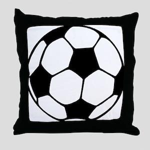 Soccer Futbol Futbolr Ball Graphic Throw Pillow