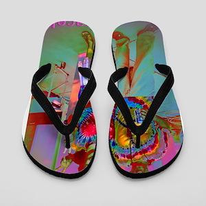 Peace Flip Flops