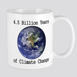 4.5 Billion Years of Climate Change Mug