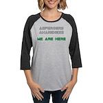 Aspergers Awareness Womens Baseball Tee