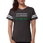 Aspergers Awareness Womens Football Shirt