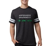 Aspergers Awareness Mens Football Shirt