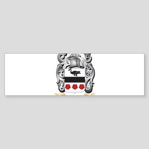 Beckers Family Crest - Beckers Coat Bumper Sticker