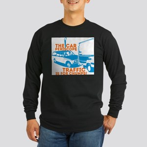 Car Periscope Shirt Long Sleeve Dark T-Shirt