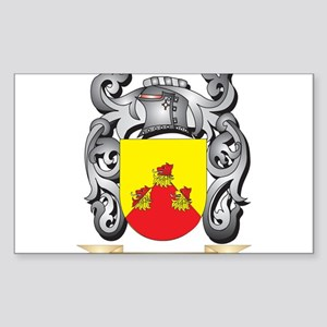 Becket Family Crest - Becket Coat of Arms Sticker