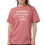 Aspergers Geek Womens Comfort Colors Shirt