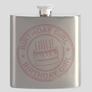 Birthday Girl Soft Pink Flask