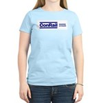 Conrail Reading Division Women's Pink T-Shirt