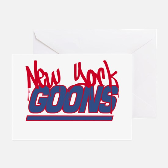 New York Goons Greeting Cards (Pk of 10)